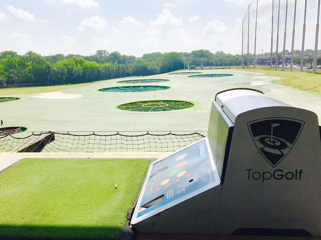 Escaping LA's June Gloom in Dallas @topgolf
