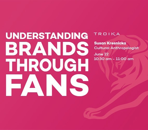 "Heading to Cannes this summer? We're hosting our first session at Lions Entertainment 2017 called ""Understanding Brands Through Fans,"" where we'll be sharing insights into how brands can build strong, enduring fan relationships. Save the date: June 22."