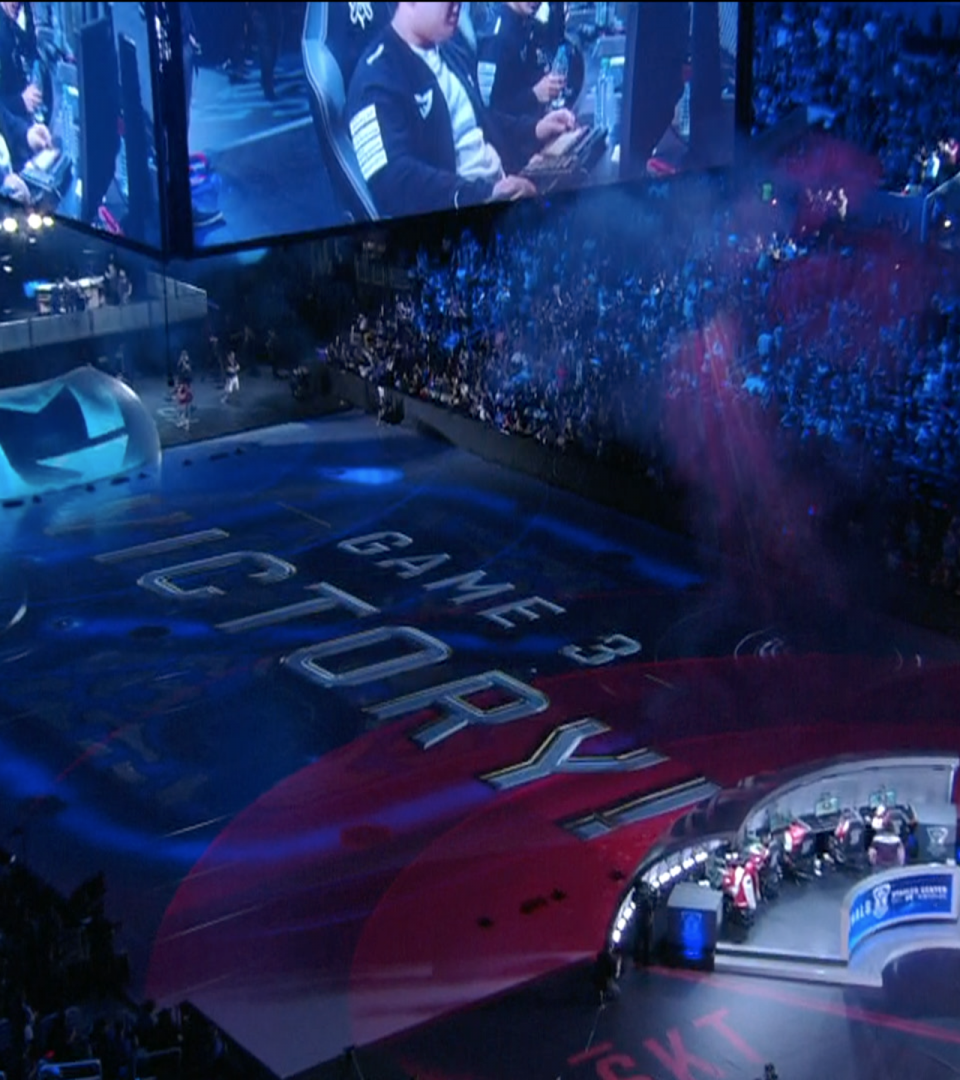 Riot Games' League of Legends World Championship Broadcast