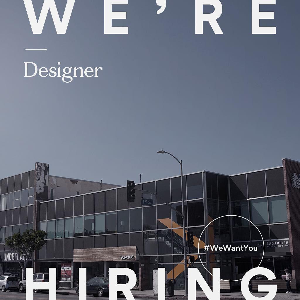 We're hiring a full-time designer to join our creative team! Submit your portfolio to creative@troikamedia.com